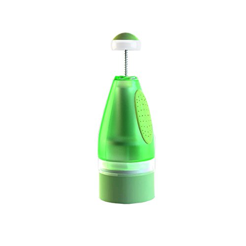 SIWU Garlic Peeler and Mincer - Large-Capacity Container Makes it Easy to Peel, Press, and Mince Garlic, Chop Nuts, Onions,