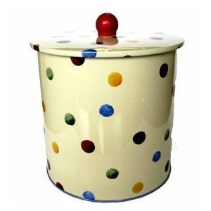 Emma Bridgewater Polka Dot Biscuit Barrel