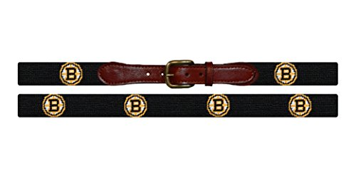 Smathers & Branson NHL Needlepoint Belt - Boston Bruins (B-Bruins-42) (Boston Bruins Belt Buckle compare prices)