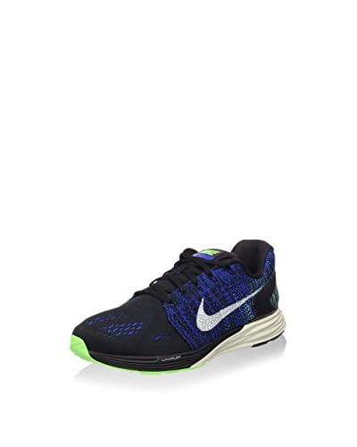 Nike Zapatillas Lunarglide 7 Negro / Azul