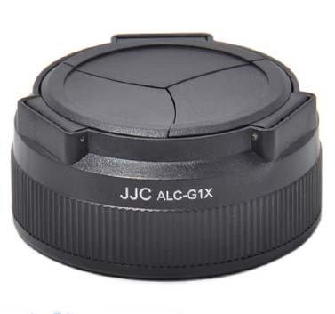 JJC ALC, G1 X, Automatisches Öffnen Und Schließen Objektivdeckel für Canon PowerShot G1 X G1 X-Kamera