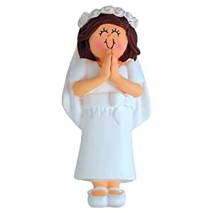 Ornament Central OC-187-FBR First Communion Female Figurine