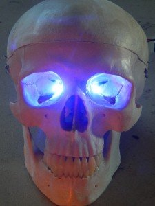 Blue Led Eyes For Mask, Skulls and Halloween Props from Dead Head Props