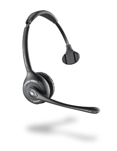Plantronics Cs510 - Over-The-Head Monaural Wireless Headset System - Dect 6.0