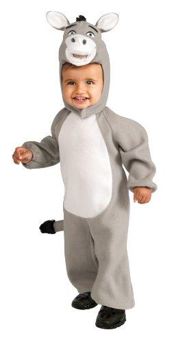 Shrek Romper And Headpiece Donkey Costume