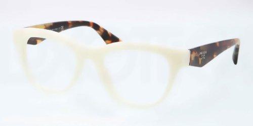 pradaPrada PR04QV Eyeglasses-7S3/1O1 Ivory-49mm