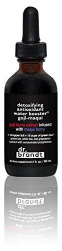 Dr.Brandt Detoxifying Anti-Oxidant Goji-Maqui Water Booster, 2 Fluid Ounce