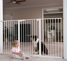 KidCo G16-12.5 Extra Tall 12.5 in White Extension