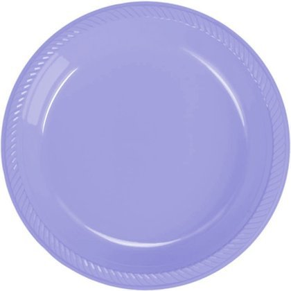 Lilac Bloom Plastic Dessert Plate 20 Count