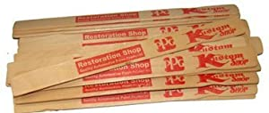 "Custom Shop Paint Mix Sticks Pack of 25 Each 12"" Birch Paint Mixing Paddles Pack of 25"