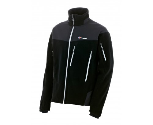 BERGHAUS Men's Choktoi Fleece Jacket, Black, L