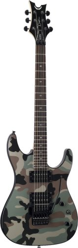 The Dean Vendetta 20 F CAMO Guitars Are Great Looking Affordable Double Humbucker Electric With Floyd Rose Tremolo If Youre For Your