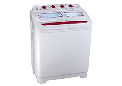 Godrej GWS8002PPC Semi-Automatic Washing Machine (8 Kg, Dew Red)