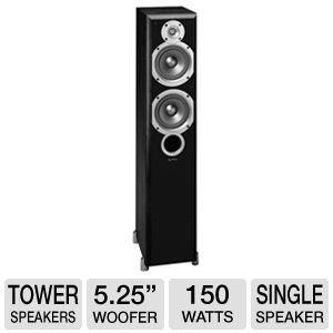 Infinity Primus P253 Two-Way Dual 5-1/4-Inch Floorstanding Speaker (Black, Each)