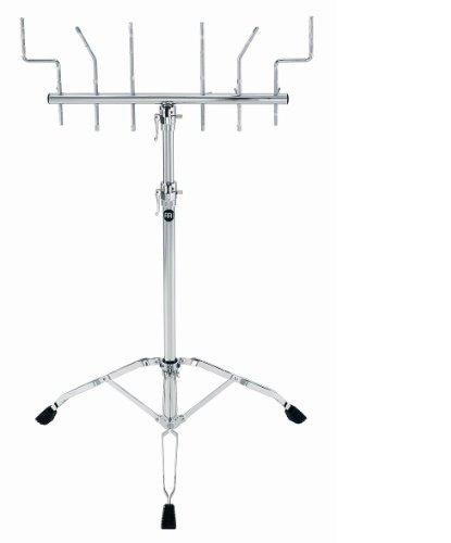 Meinl Percussion TMPS - Asta per percussioni, altezza: 80 cm-133 cm, cromata