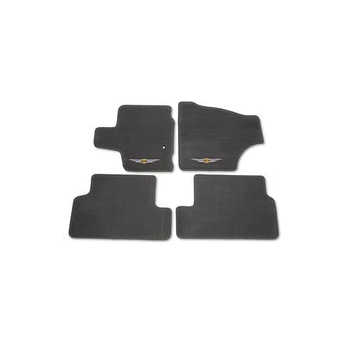 Coverking Front and Rear Floor Mats for Select Lexus RX Models Clear Nibbed Vinyl