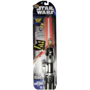 Mighty Beanz Light Sabre Flip Track Darth
