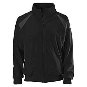 New Balance Team Dugout Jacket, Black, Large by New Balance