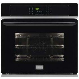 """Frigidaire Fgew3065Pb Gallery 30"""" Black Electric Single Wall Oven - Convection"""