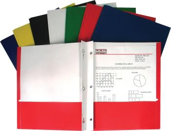 C-Line Two-Pocket Folders