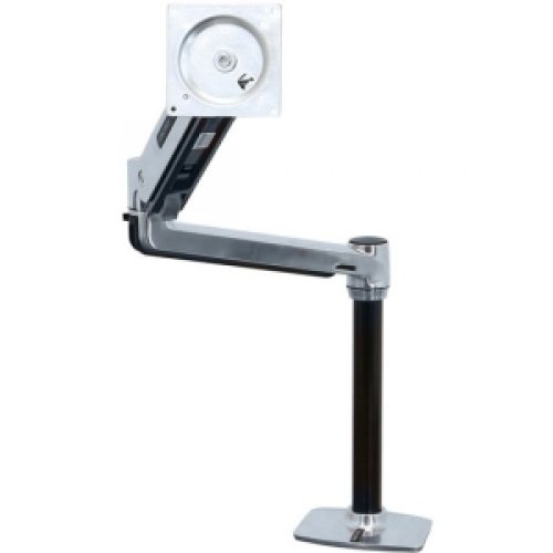 Ergotron 45-384-026 Lx Hd Sit-Stand Desk Mount Lcd Arm For 46In