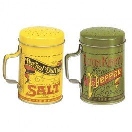 Norpro 713 Salt and Pepper Shakers, 4 Piece Set