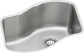 Elkay MYSTIC2920DBG The Mystic Stainless Steel Kitchen Sink Lustrous Highlighted Satin 1 Basins