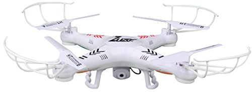 Drone with Camera - ZuZo® 2.4GHz 4 CH 6 Axis Gyro RC Quadcopter Dron