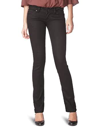 Hilfiger Denim Victoria - Jean - Droit - Black - Femme - Noir (Chicago Coated) - W25/L32