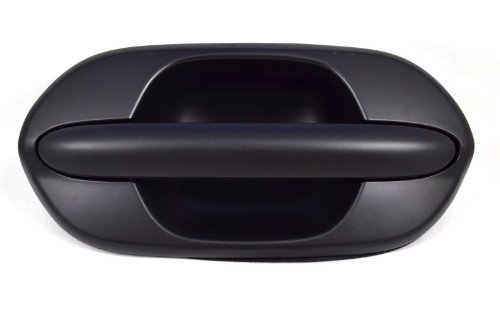 PT Auto Warehouse HO-3613P-RR - Outside Exterior Outer Sliding Door Handle, Primed Black - Passenger Side Rear (Honda Odyssey Rear Door Handle compare prices)
