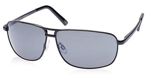 Speedo Speedo Aviator Sunglasses (Matte Black) (II-SP- 003-004) (Multicolor)