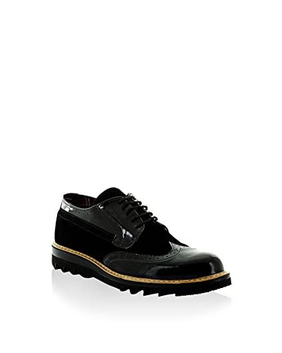 Tony Black Zapatos derby Negro