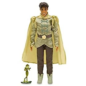 Disney The Princess and the Frog Prince Naveen Doll -- 11''