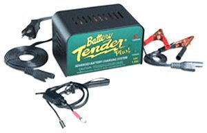 Deltran SuperSmart Battery Tender Plus 12-Volt 1.25 AMP Battery Charger