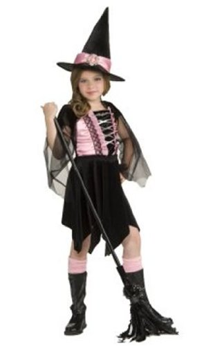Children's Glamour Witch Dress Up Costume
