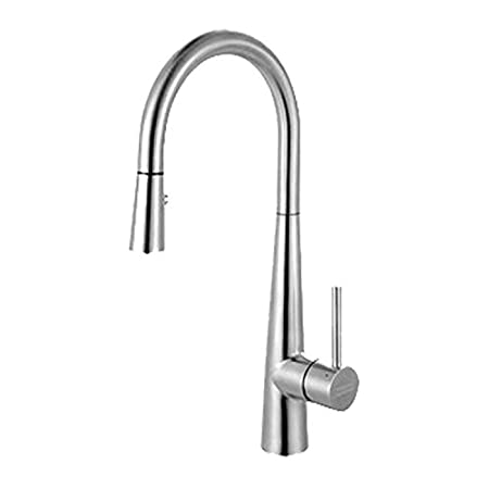 Franke FFP3450 Kitchen Series Pull-Down Prep Faucet, Stainless Steel
