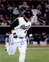 Signed Brown, Jeremy (Sacramento River Cats) 8x10 autographed by Powers Collectibles