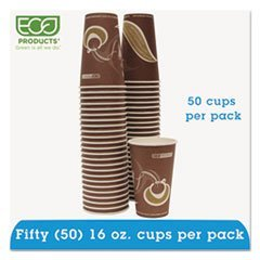 Evolution World 24% Pcf Hot Drink Cups, 16oz, Purple, 50/pack By: Eco-Products