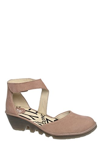 Piat Low Heel Ankle Strap Sandal