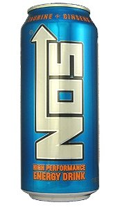 16 Pack - NOS High Performance Energy Drink - Original - 16oz.