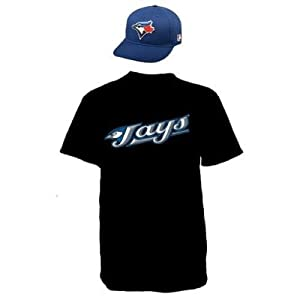 Toronto Blue Jays Combo MLB CAP & JERSEY Major League Baseball Licensed Replica... by Authentic Sports Shop