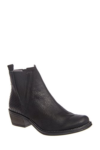 Chevre-Tag Low Heel Bootie