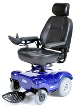 """Renegade Power Wheelchair with Peace Of Mind, EXTENDED WARRANTY - Red, 20"""" Seat"""