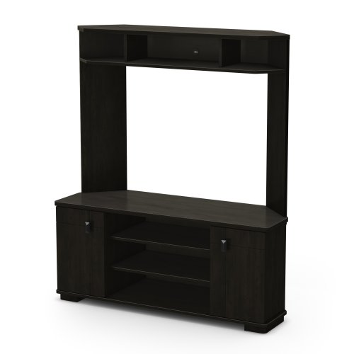 South Shore Vertex Collection Corner TV Stand, Ebony photo B008P7S1I8.jpg