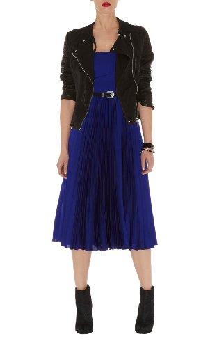 Strapless Fluid Pleat Dress