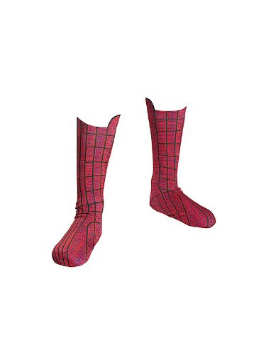 Spider-Man Movie Kids Costume Boot Costume Item - Disguise