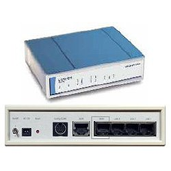 DSL/I-10 Office - Router + 3-Port-Switch - ISDN