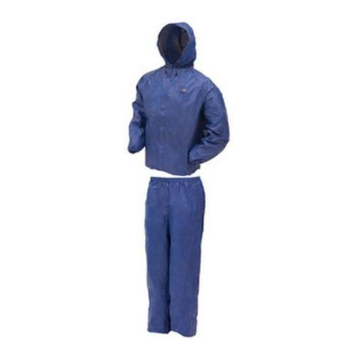 Frogg Toggs Ul12104-12Lg Ultra Lite Rain Suit Blue, Large