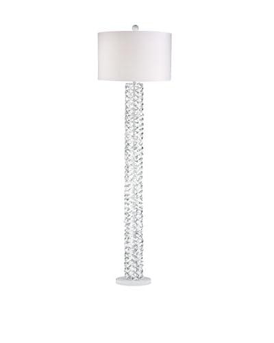 Artistic Lighting Floor Lamp, Gloss White