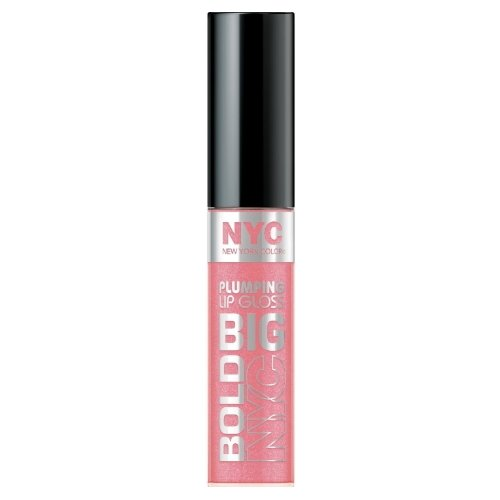 (3 Pack) NYC Big Bold Gloss - Pleasantly Plump Pink